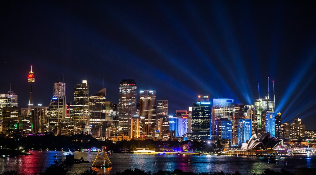 Vivid Sydney 2016.  Credit: Destination NSW